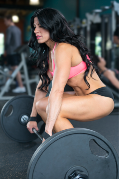 Edie Vlooswyk WBFF Pro and Personal Trainer Calgary